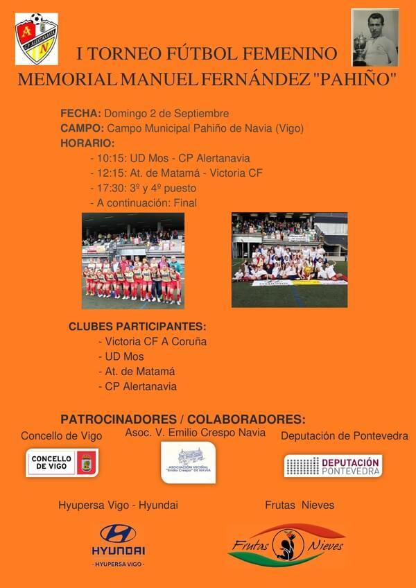 "I Torneo femenino memorial Manuel Fernández ""Pahiño"" - CP Alertanavia"