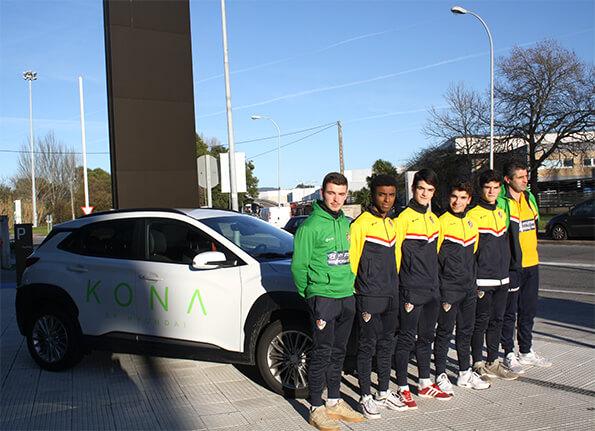 Hyupersa-Vigo patrocinador del C.P. Alertanavia Categoría Cadete Liga Gallega