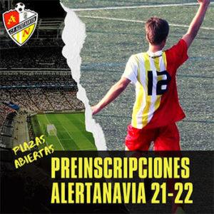 Temporada 2021-22 Preinscripción