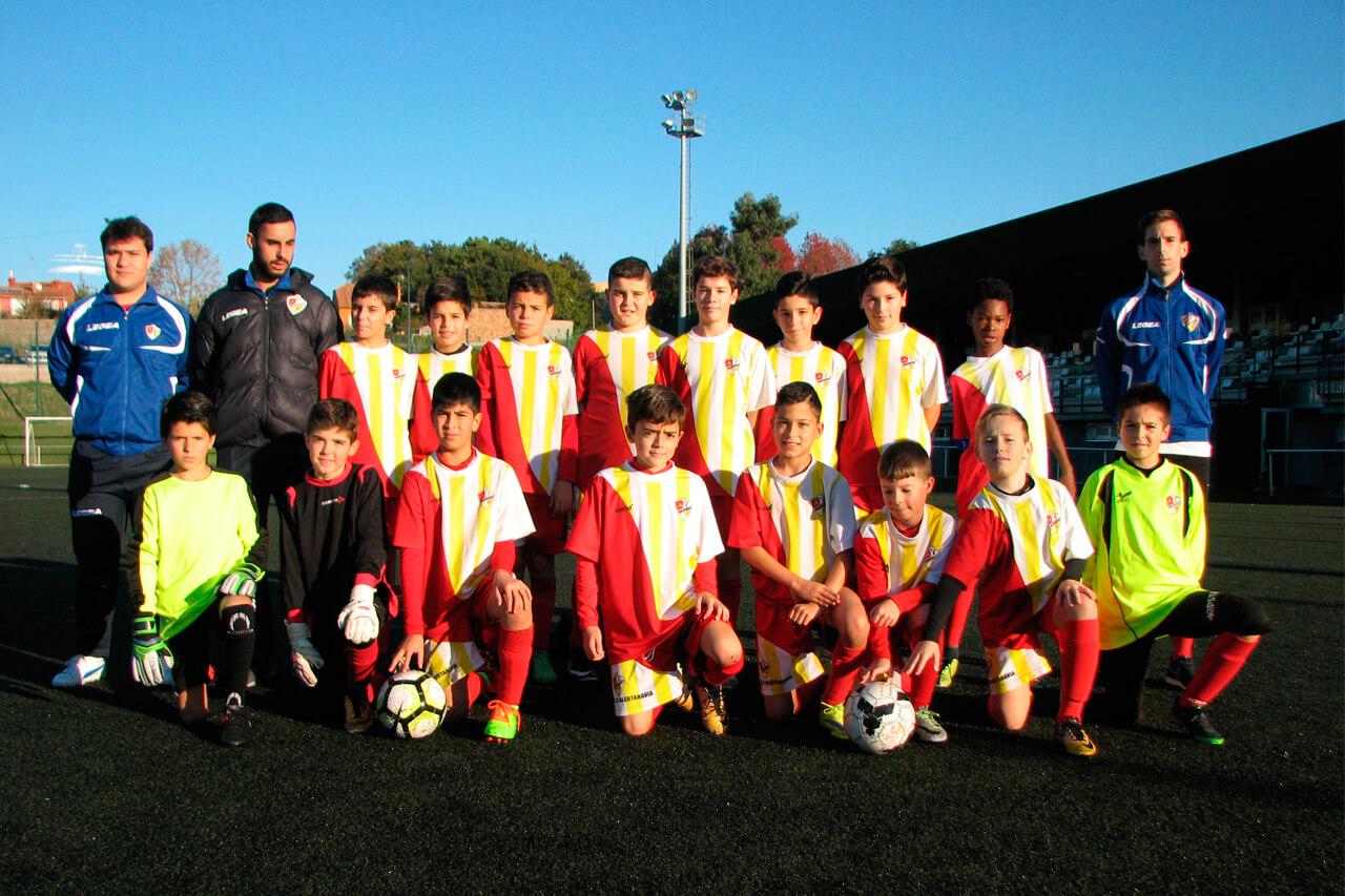 Equipo Alevín A del C.P. Alertanavia (Temporada 2017-18)