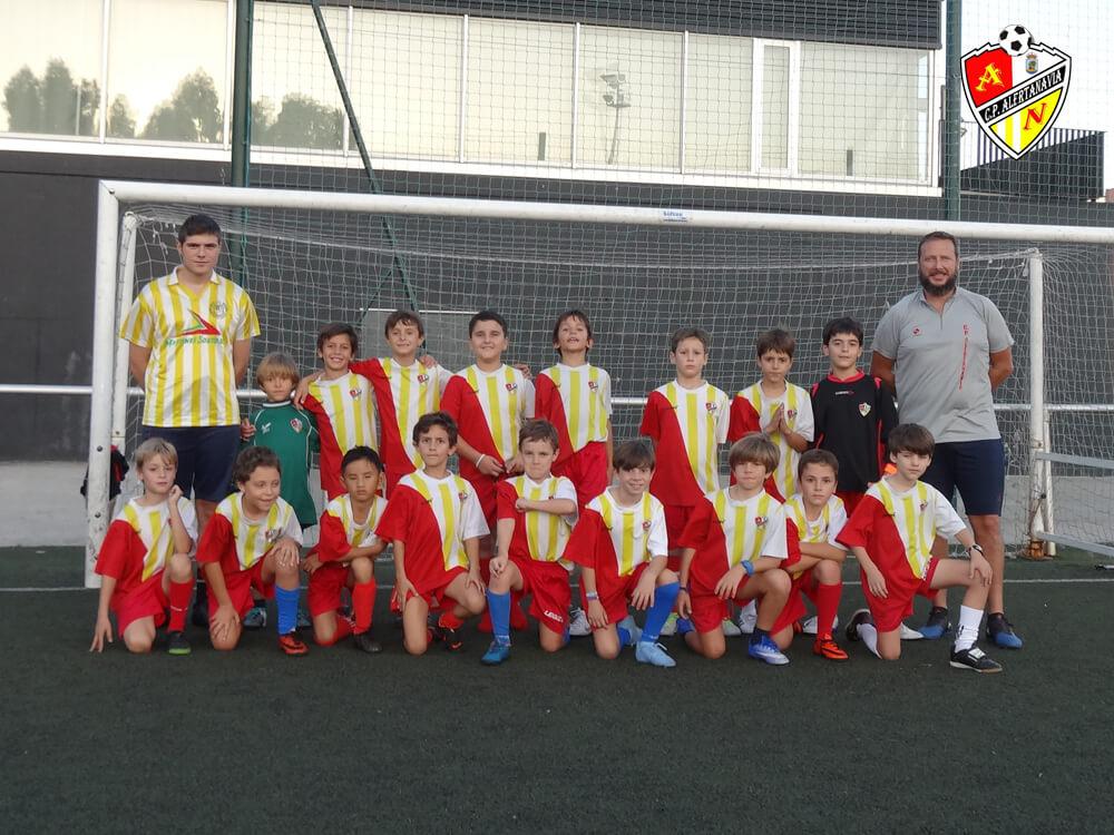 Equipo Benjamín B del C.P. Alertanavia (Temporada 2018-19)