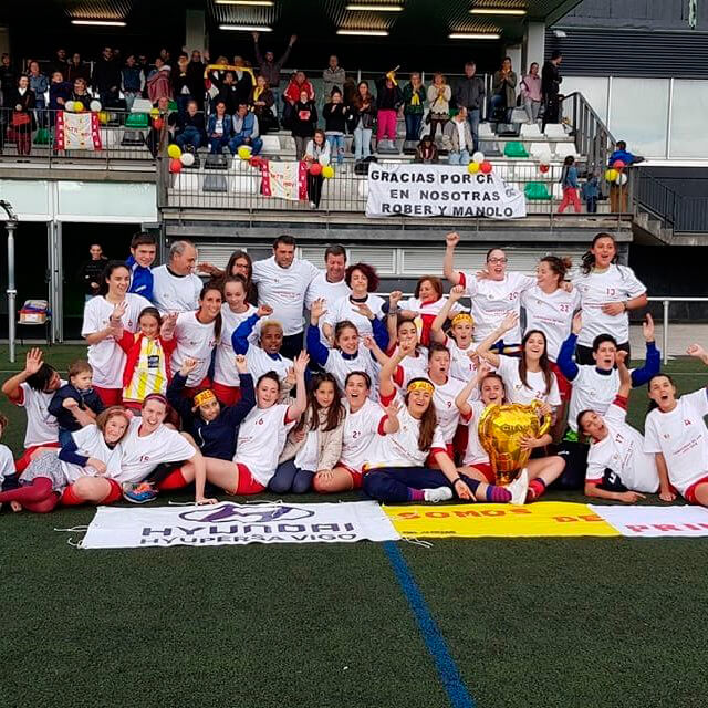 CP Alertanavia - Equipo Feminino - Campeonas 2ª División Femenina Temporada 2017-18