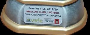 CP Alertanavia. Mejor club fútbol 2019/20