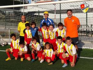Equipo Prebenjamín A del C.P. Alertanavia (Temporada 2018-19)