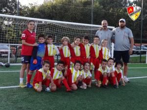 Equipo Prebenjamín C del C.P. Alertanavia (Temporada 2018-19)