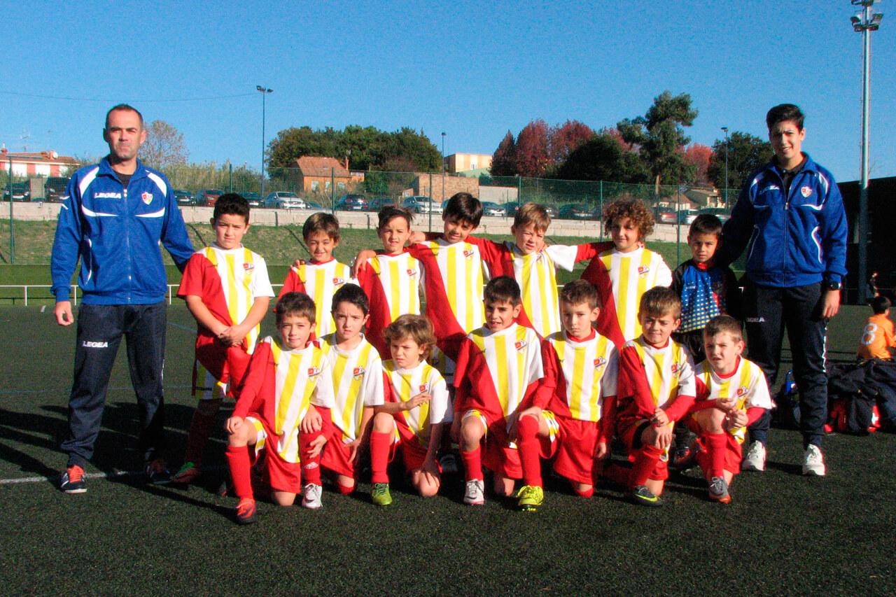 Equipo Prebenjamín A del C.P. Alertanavia (Temporada 2017-18)